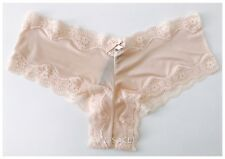 $14.50---NWT* Victoria's Secret VERY SEXY CHEEKY PANTY---PINK IVORY---M/M