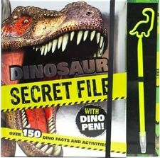 Dinosaur Secret File with Dino Pen: Over 150 Dino Facts and Activities! by Parragon Books (Hardback, 2016)