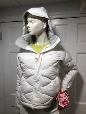Size M L XL North Face Women/'s Vintage White Agave Jacket Slim Fit MSRP $99