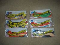 1975 Topps Flying Things Complete Set of 6 Mint still in Factory Plastic Package