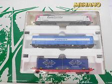 eso-7133Mehano T739 H0 Zugpackung mit E-Lok Eurosprinter ES64P-001