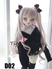 Bjd Doll Wig 1/3 8-9 Dal Pullip AOD DZ AE SD DOD LUTS Dollfie purple Toy Hair