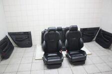 Audi A6 S6 RS6 4B C5 V8 schwarze Lederausstattung Sitze Sportsitze Leather Seats