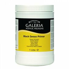 Winsor & Newton Galeria Black Gesso Primer 1 Litre