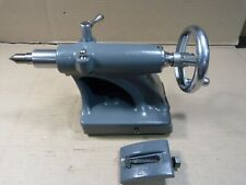 "NICE! Atlas 10"" lathe tailstock complete w/dauber, center & clamp F10 tail stock"