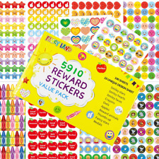 5910 Teacher Stickers for Kids Mega Varity Pack Reward Stickers Incentive Class