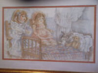 "MARY HULGAN  PRINT ""STORYTIME"" SIGNED, TITLED, NUMBERED IN PENCIL BY THE ARTIST"