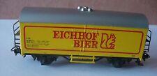 396 Märklin 4420 wagon couvert Eichhof Bier CFF Ho