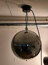 Spiegelkugel, Discokugel, mit Eurolite Motor 25cm Durchmesser *ansehen*