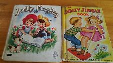 The Jolly Jingle Book  (Elf Book) (1951) and Jolly Jingles (Tell A Tale ) (1949)