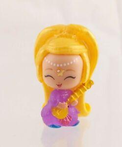 Shimmer & Shine Teenie Genies Mini Figure Blonde, Purple Dress, Instrument