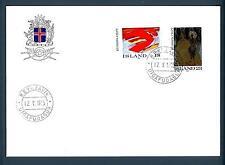 ICELAND - ISLANDA - 1975 - BUSTA - FDC - EUROPA: Quadri