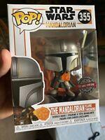 Funko Pop! Star Wars #355 -- The Mandalorian (Flame Throwing) Target Exclusive