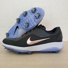 Nike React Vapor 2 Womens Spiked Golf Shoes Black White Wide SZ ( BV1322-001 )