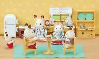 Calico Critters Set Deluxe Cozy Kitchen Set Gift Kids Epoch CC2257 55+ pcs NEW
