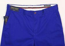 Men's POLO GOLF RALPH LAUREN Royal Blue Pants 34x32 34 NEW NWT Links Fit