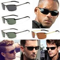 Mens Driving Polarized Lens Fashion Outdoor Sports Sunglasses Eyewear Glasses