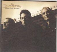 THE FLATLANDERS - hills and valleys CD