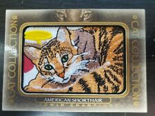 2020 Upper Deck Goodwin Cat Collection Patch American Shorthair #Fc-5