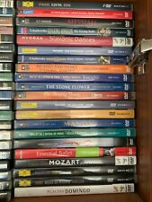Huge Opera Classics Ballet Symphony Collection Lot of 80 Dvds + 120 Cds