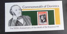 Dominica 1979 Rowland Hill MS654 miniature sheet UM MNH unmounted mint