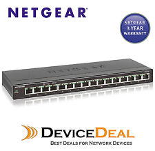 Netgear GS316 16 Port Gigabit SOHO Ethernet Switch
