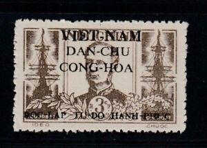 VIET MINH Amédée Courbet, Admiral MNH stamp