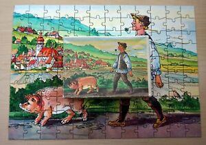 Annaberger Puzzle 120 Teile - Hans im Glück - DDR Spielzeug