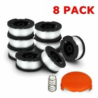 "6x BLACK+DECKER AF-100-3ZP 30ft .065/"" Line String Trimmer Replacement Spool Set"