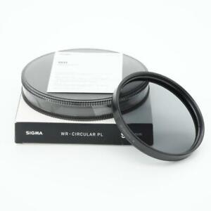 Sigma Circular Polarizing 95mm WR Coated Filter