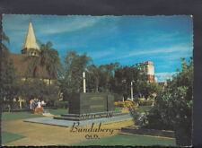 Australia Postcard-Buss Park Showing The Berk Hinkler Memorial, Bundaberg RR2126