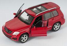 BLITZ VERSAND Mercedes Benz GLK rot / red Welly Modell Auto 1:34 NEU & OVP