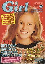 Girl & Dreamer Magazine 27 February 1982     Todd Carty