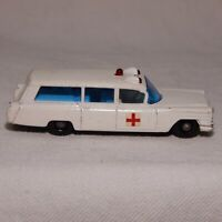 MATCHBOX SERIES NO.54, S & S CADILLAC AMBULANCE, MADE IN ENGLAND BY LESNEY (A)