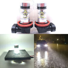 H11 H8 H9 H16 CREE LED Fog Light Conversion Kit Super Bright 6000K White 55W