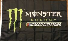 Monster Energy Flag 3x5 NASCAR Cup Series  Logo Banner Racing
