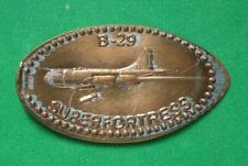 B- 29 Super Fortress elongated penny Usa cent Flying Machines Series coin
