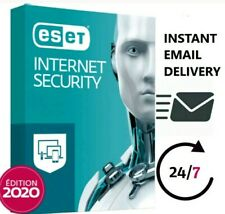ESET NOD32 Intenet Security latest version (1PC /1Year)
