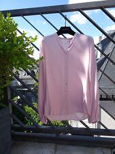 ESPRIT Bluse rosa rose pastellfarben V-Ausschnitt Gr. XS S 34 36 *NEU*