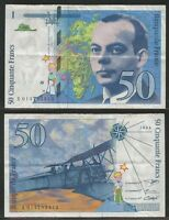 FRANCIA - 50 Francs 1994 Pick 157Ab  VF