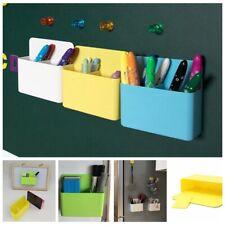 Wall Whiteboard Marker Magnetic Refrigerator Eraser Pencil Pen Holder Storage