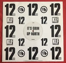 """THE KLF -It's Grim Up North- UK 12"""" Promo/Justified Ancients Of MuMu/The Jams"""