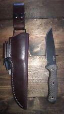 Busse Swamprat Ratmandu knife scrapyard infi infidu Patriot Leather sheath