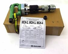 Sullair Pneumatic Chipping Hammer MCH-3 S .680 Round w/ Screw-On Ball Retainer