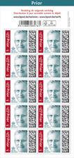 100 timbres pour la Belgique lettre normalisée PRIOR
