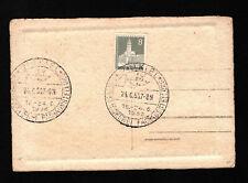 Opc 1956 germany Kiel Fisheries Exhibition on Heidelberg Postcard