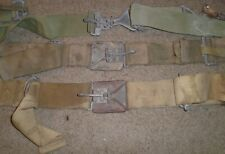 Vintage Army Military Industrial Buckles