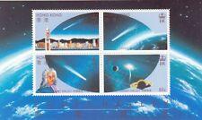 HONG KONG :  1986 Halley's Comet Miniature Sheet SGMS511 MNH