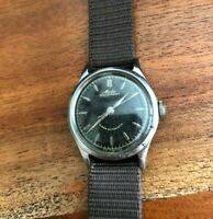 Vintage Mido Multifort Automatic Mens Watch Military 1940s Patina