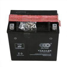 Battery YTX14-BS for Honda TRX 500 420 350 Suzuki Kawasaki Yamaha Aprilia BMW